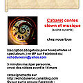 <b>cabaret</b> /scène ouverte