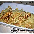 Crepes fourrees aux crevettes ( recette ikea )