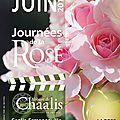Sortie aux <b>journées</b> de la <b>rose</b> à l'abbaye de Chaalis