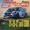 16 Rallye de Wallonie 2008