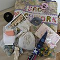 Voyage du sac patchwork