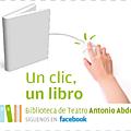 Un livre aux 50 premiers amis facebook d'une bibliothèque