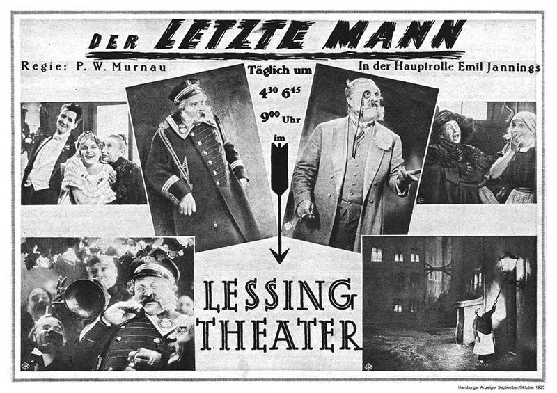 Le dernier des hommes (1924)