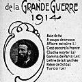 Les Chansons de la Grande Guerre, par Albert Larrieu