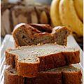 Banana loaf - cake à la banane