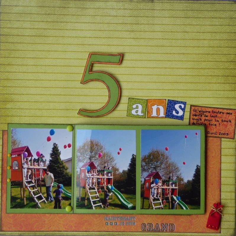 5 ans