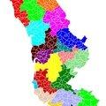 Projet de découpage des cantons pour le département de la manche - décembre 2013