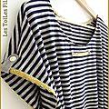 4-Robe tunique jersey rayé1