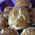 Feuilletés jambon de bayonne/fromage de brebis des pyrénées