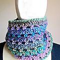 Crochet : deux snoods