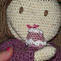 cupcake poupée au crochet coton fifty 6