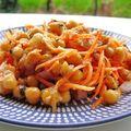 Salade de pois chiches marocaine