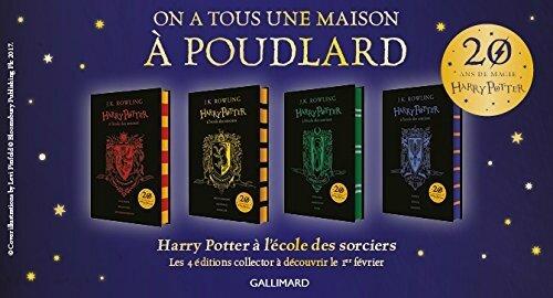 Concours à l'occasion des 20 ans de la saga Harry Potter