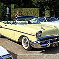 Chevrolet bel-air convertible de 1957 (9ème Classic Gala de Schwetzingen 2011) 01