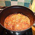 Repêchage round 2 : mignon de porc à la cuillère et marmelade de prunes aux épices