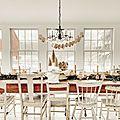 <b>Déco</b> de <b>table</b> : un buffet pour un Noël cosy, nostalgique et enneigé