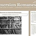 Le <b>blog</b> Immersion Romanesque