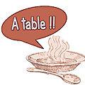 Vendredi 6 avril 2018 - on mange quoi (ce soir) ? idées de repas / menu de la semaine