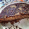 Gâteau à la farine de châtaigne et aux noix