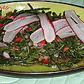 salade salicornes