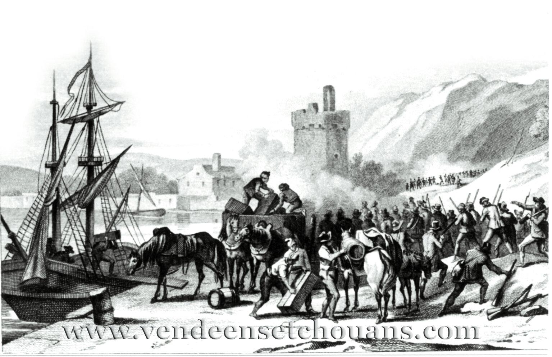 Un témoignage sur les débarquements en Vendée en 1795