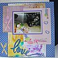 Page de scrap frimousse - 15