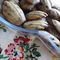 Mini-madeleines aux pépites de chocolat