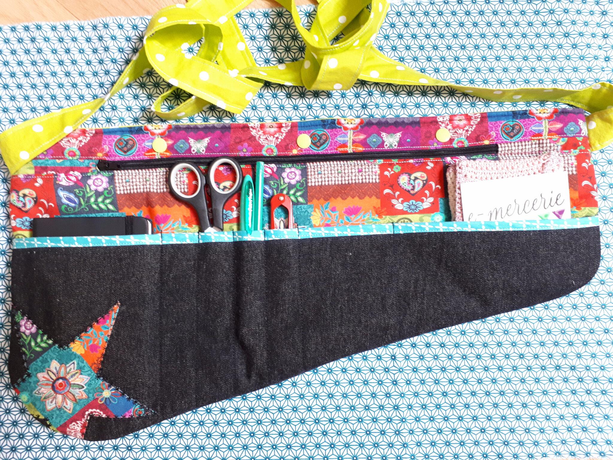 Ma ceinture Atelier, des paillettes et de beaux tissus!
