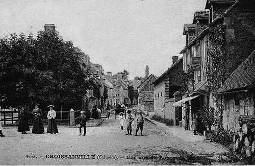 Croissanville - le bourg