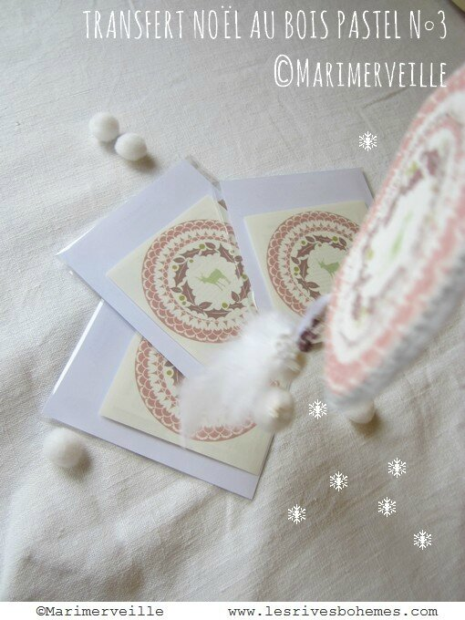 pochette transfert Noël au bois 3 Marimerveille