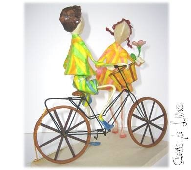 i- A bicyclette!