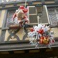 Papa Noël à la façade