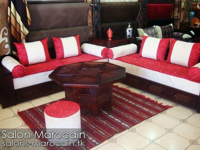 Salon marocain basma 2014 - Salon marocain moderne