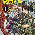 Gate - au-delà de la porte (tomes 01 & 02) de satoru sao & takumi yanai