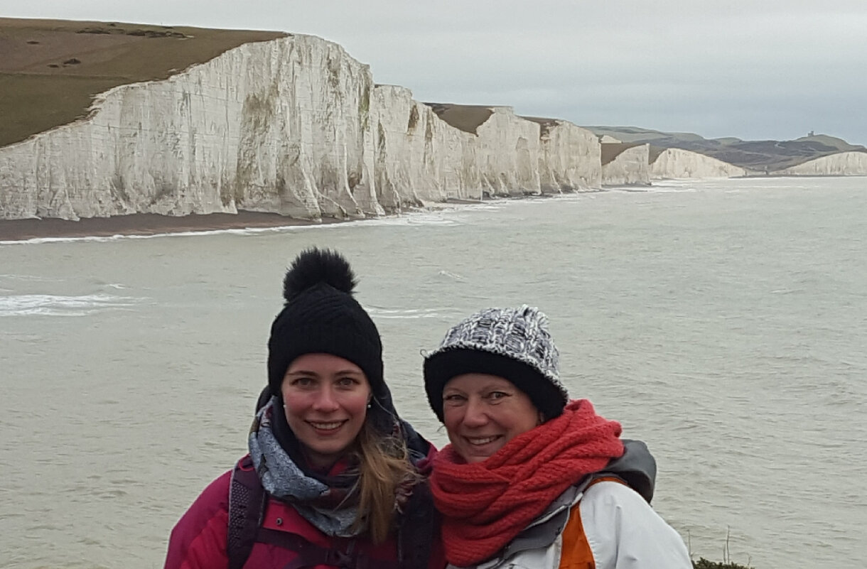 Week-end anglais...Seven Sisters