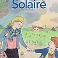 Solaire; : un très beau <b>roman</b> <b>jeunesse</b> sur un sujet grave