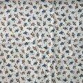 tissu 3 : tissu fluide fleurettes fond crème 150x70