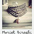 Bracelet Dentelle Perle
