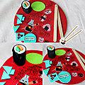 Craft - Menu <b>sushi</b> 🍣
