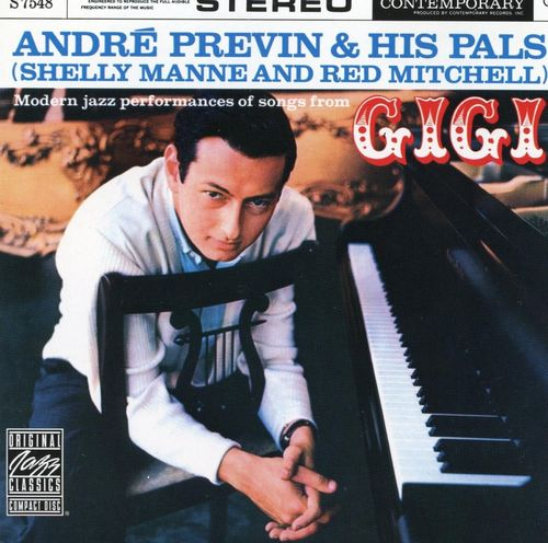 Andre Previn And His Pals Shelly Manne & Red Mitchell - 1958 - Modern Jazz Performances of songs from Gigi (Contemporary)