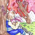 Sous les cerisiers fleuris... - [de Salami]