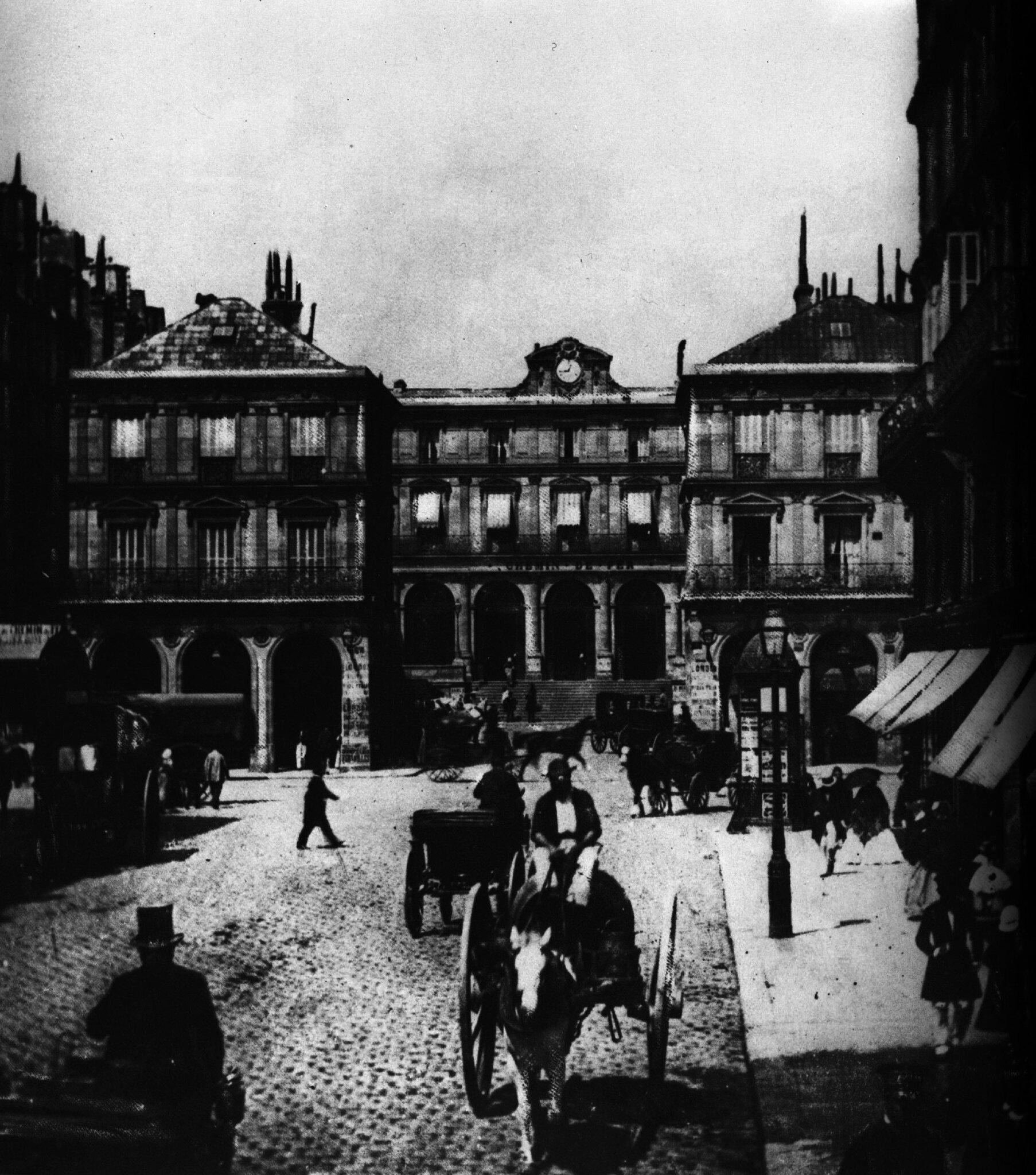 1852-1870 L'ancienn gare Saint-Lazare