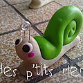 pion escargot vert