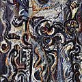 EXPRESSIONISME ABSTRAIT 1941_The mad moon woman_Pollock