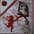 Scrapbooking & iris folding : pages : nostalgie