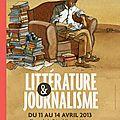 Festival de littérature et journalisme à metz