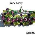 Bracelet Very Berry