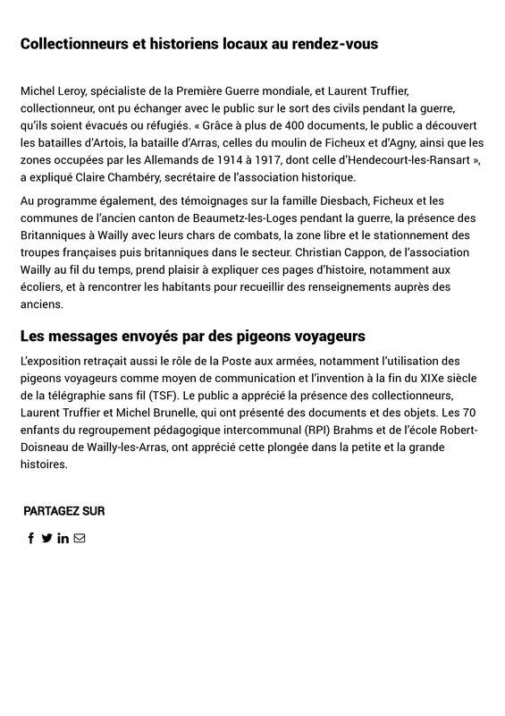 Les écoliers à la découverte des batailles en Artois entre 1914 et 1917 - La Voix du Nord-page-002