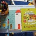 Dans la bibliothèque des enfants il y a ... avec les editions tourbillon