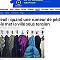 Montreuil: mobilisation de soutien aux enfants qui ont dénoncé des abus sexuels à l'école